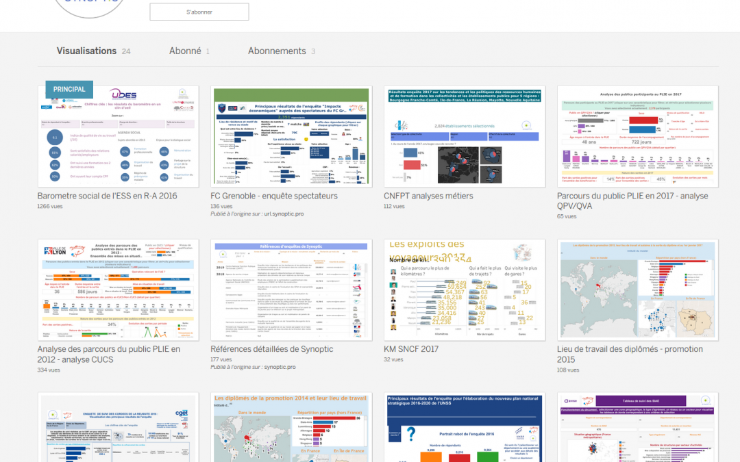 La visualisation de données appliquée aux politiques publiques